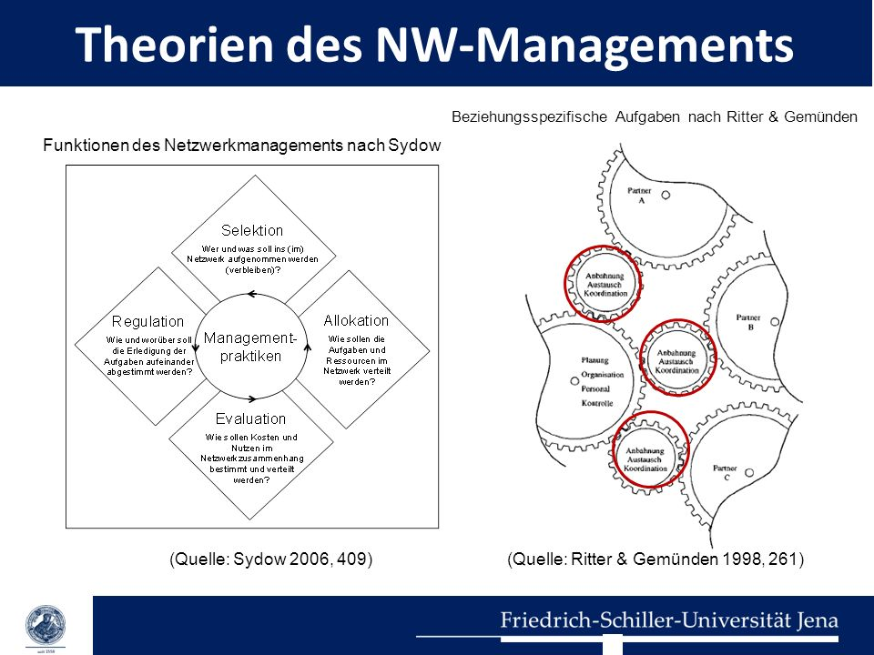 Theorien des NW-Managements