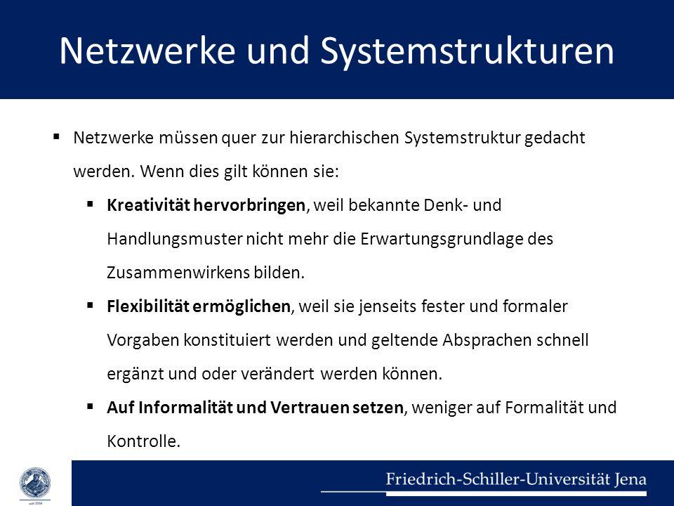 Netzwerke und Systemstrukturen
