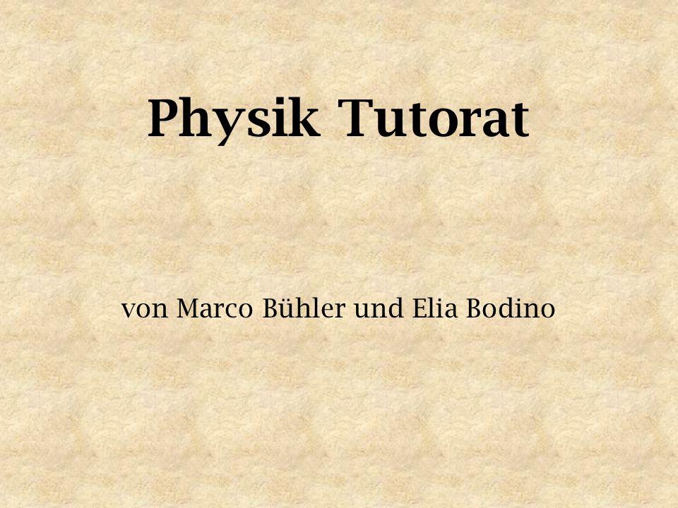 von Marco Bühler und Elia Bodino