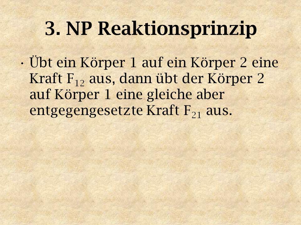 3. NP Reaktionsprinzip