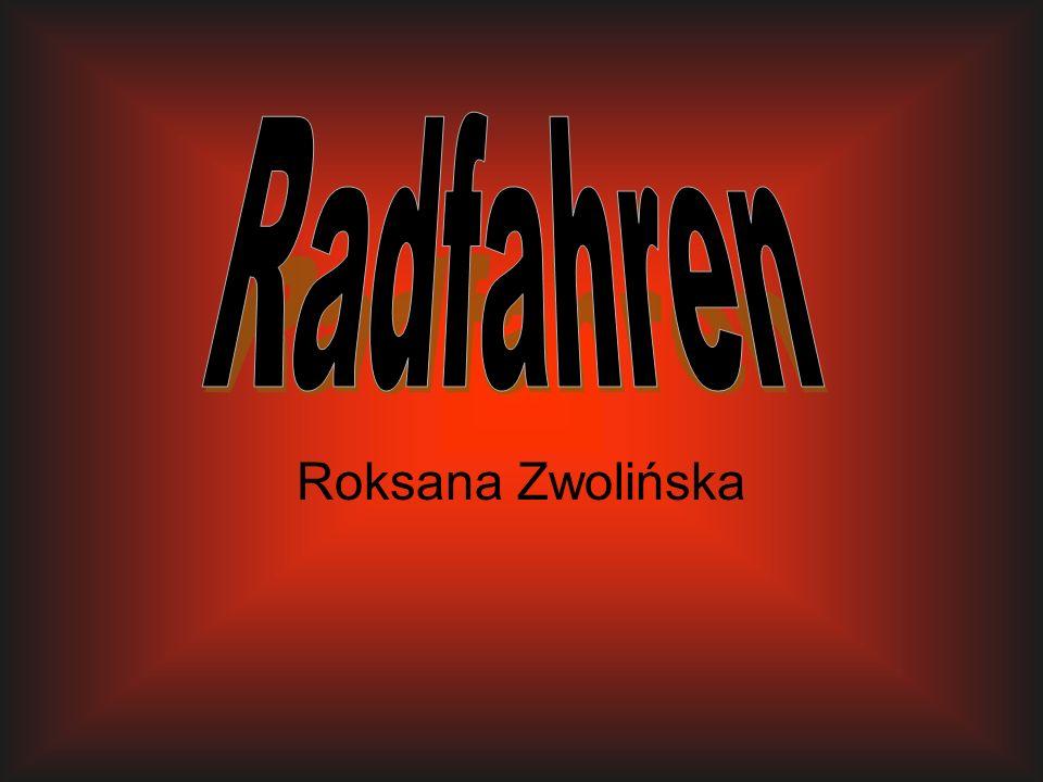 Radfahren Roksana Zwolińska