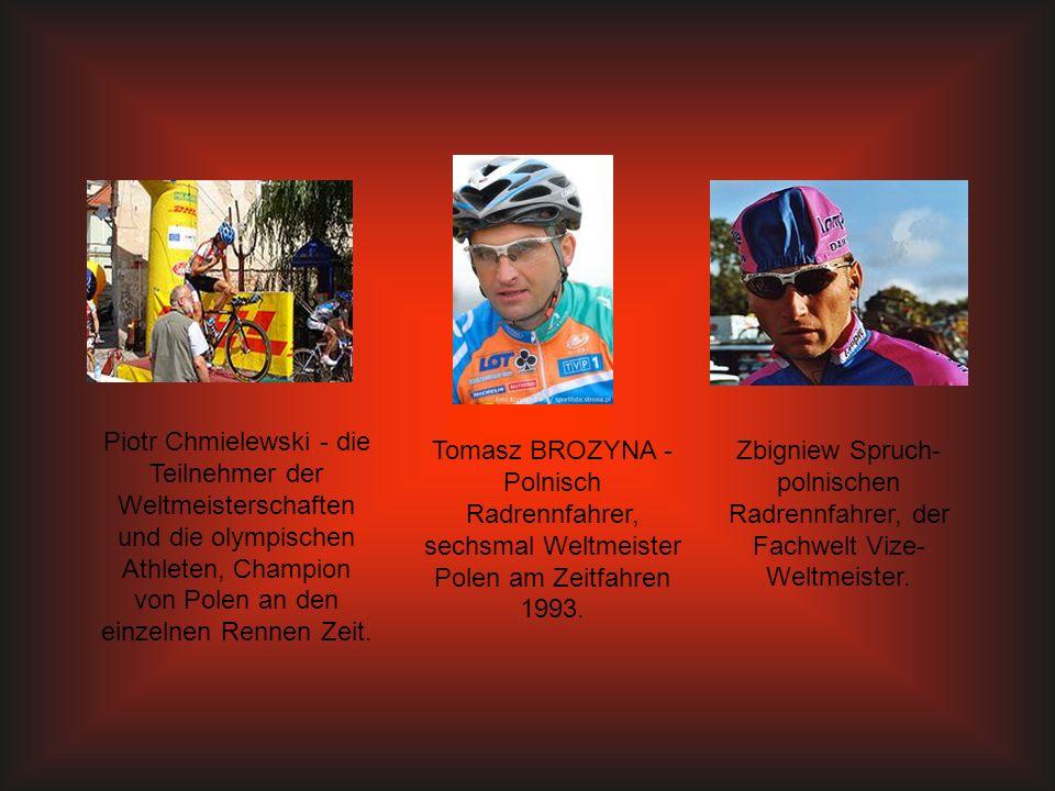 Piotr Chmielewski - die Teilnehmer der Weltmeisterschaften und die olympischen Athleten, Champion von Polen an den einzelnen Rennen Zeit.