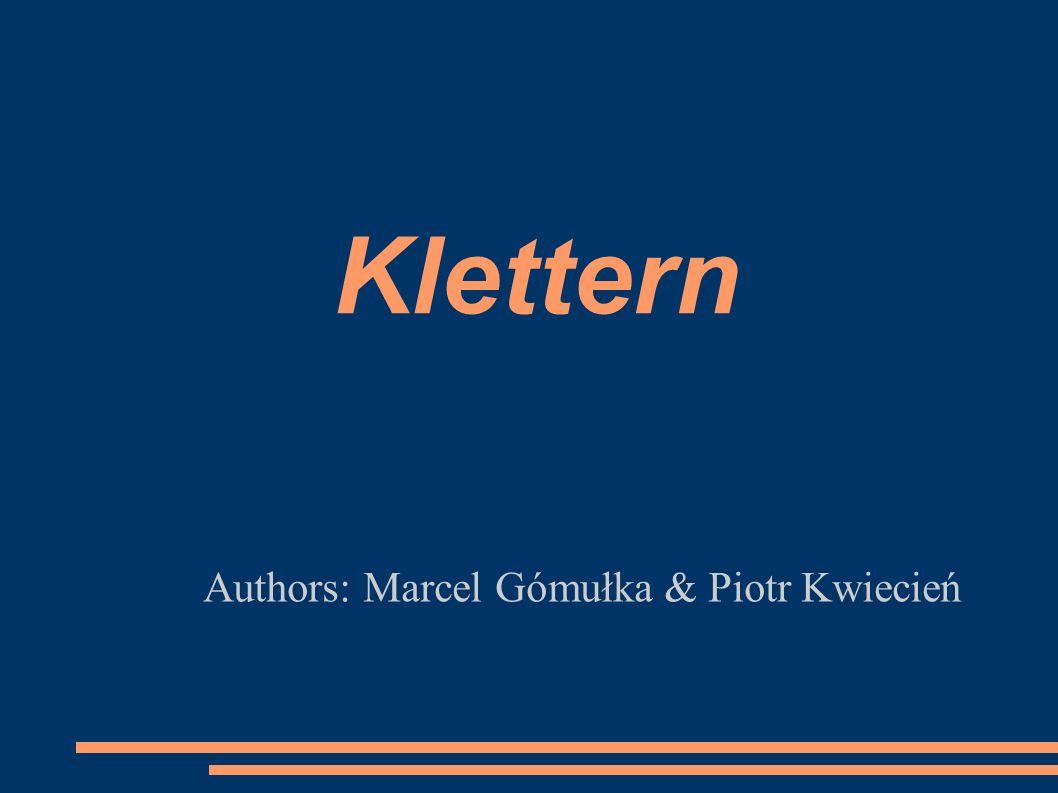 Authors: Marcel Gómułka & Piotr Kwiecień