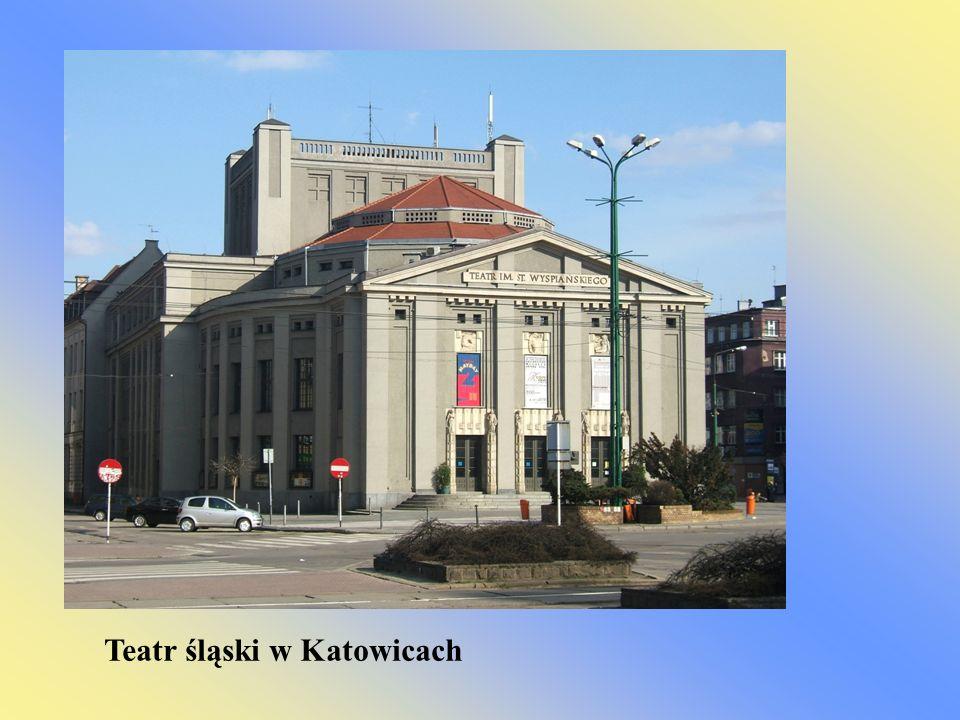 Teatr śląski w Katowicach