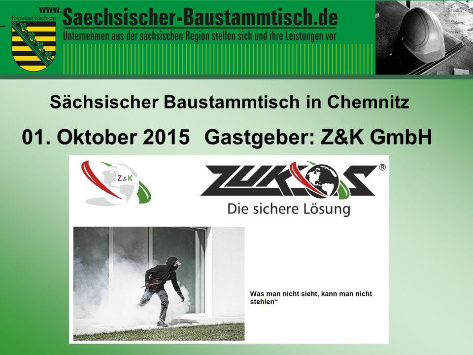 Hallo ihr Leute 01. Oktober 2015 Gastgeber: Z&K GmbH
