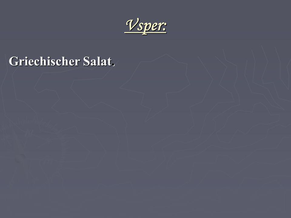 Vsper: Griechischer Salat. 42