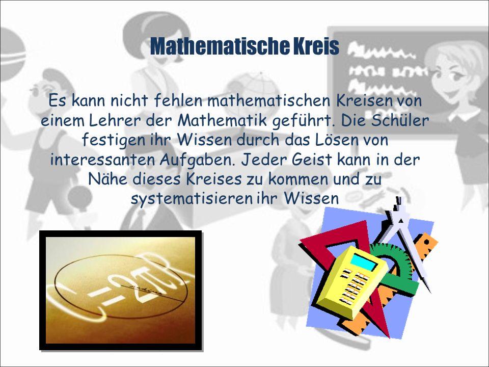 Mathematische Kreis