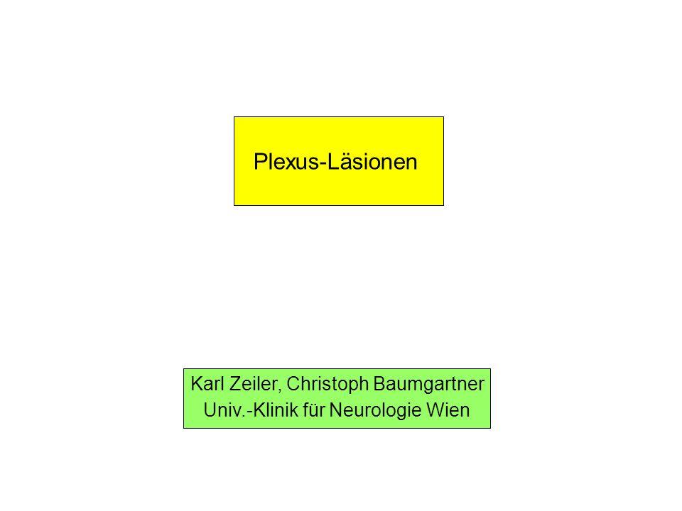 Plexus-Läsionen Karl Zeiler, Christoph Baumgartner
