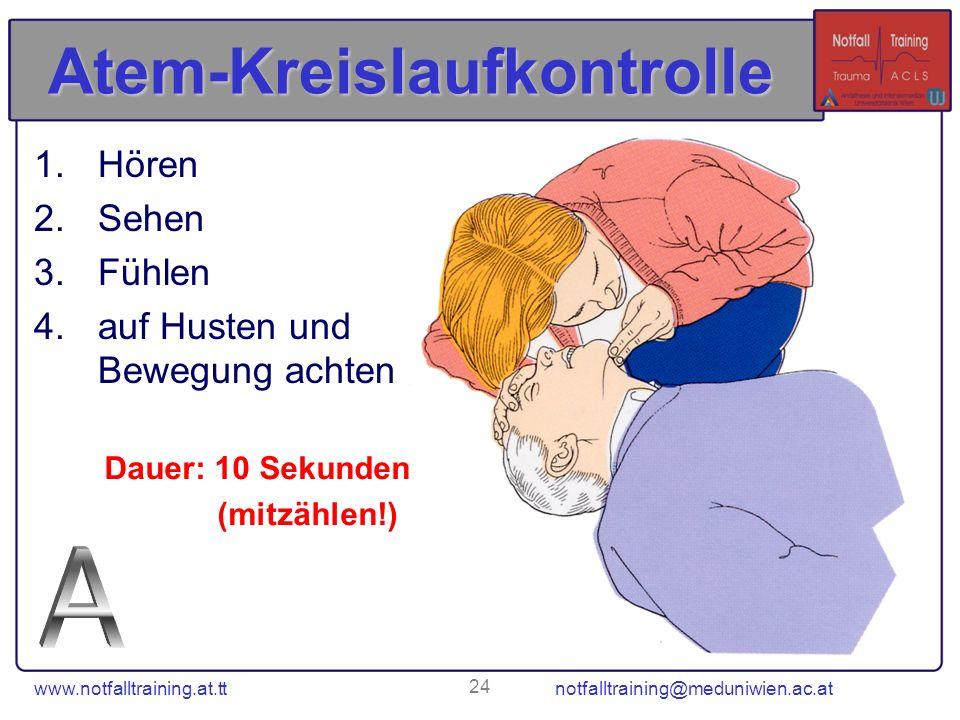 Atem-Kreislaufkontrolle