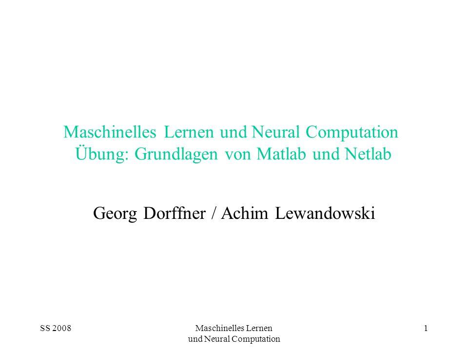 Georg Dorffner / Achim Lewandowski