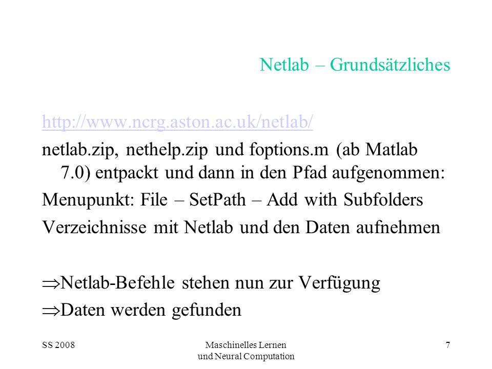 Netlab – Grundsätzliches