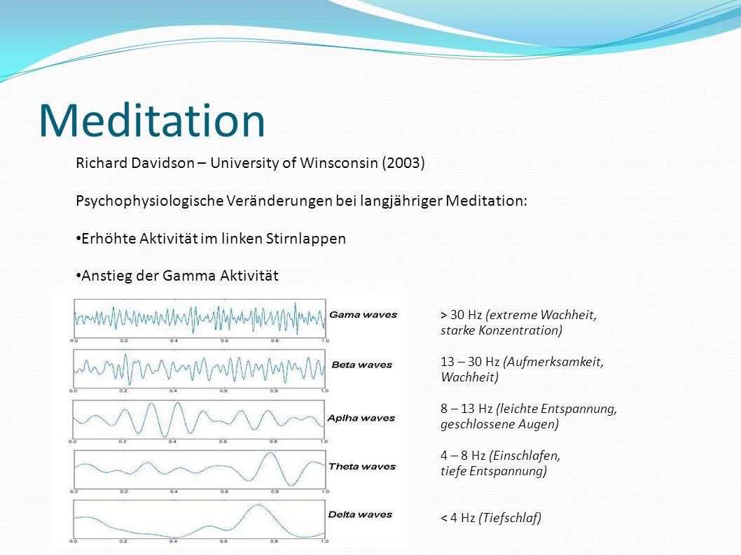 Meditation Richard Davidson – University of Winsconsin (2003)