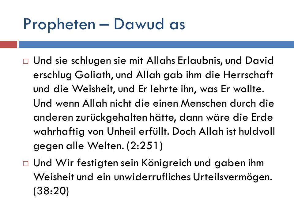 Propheten – Dawud as