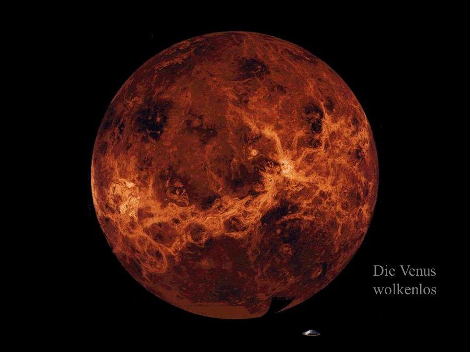 Die Venus wolkenlos
