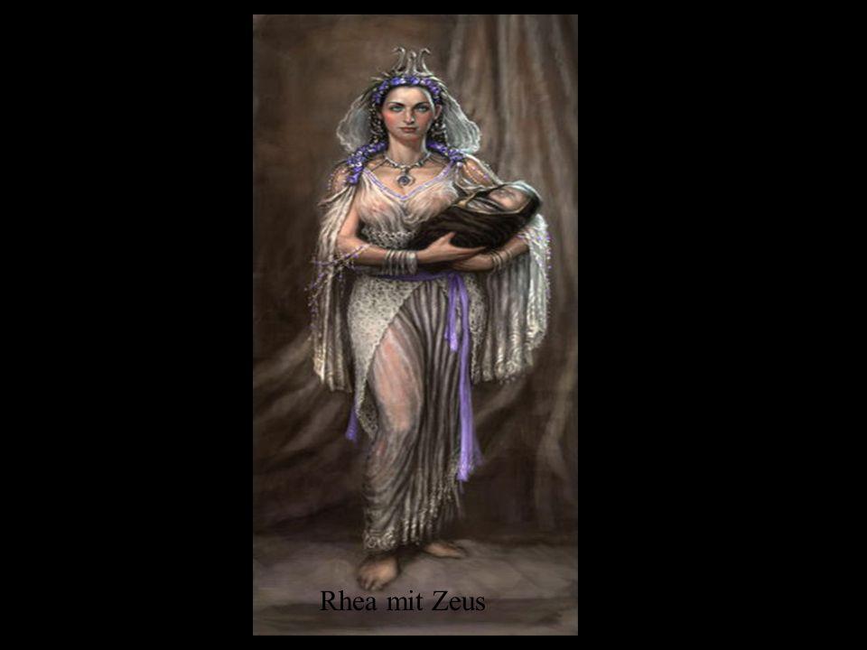 Rhea mit Zeus