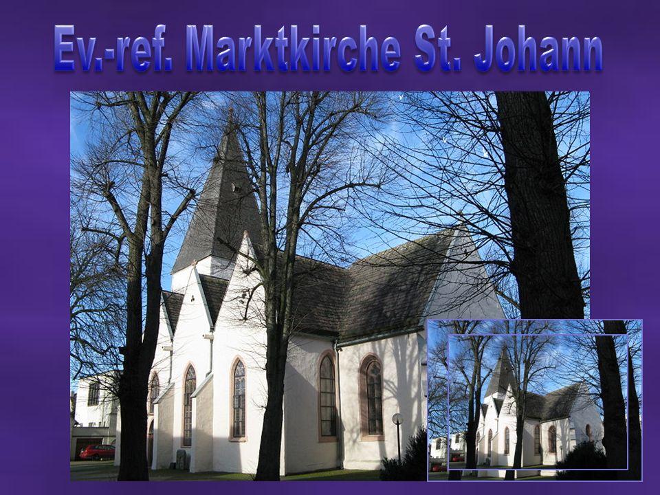 Ev.-ref. Marktkirche St. Johann