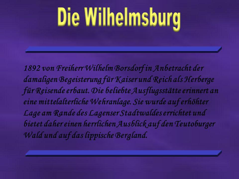 Die Wilhelmsburg Die Wilhelmsburg