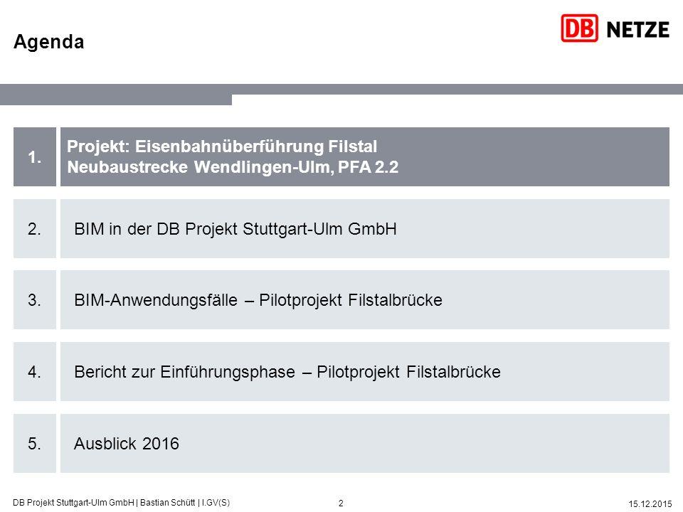 Agenda Projekt: Eisenbahnüberführung Filstal