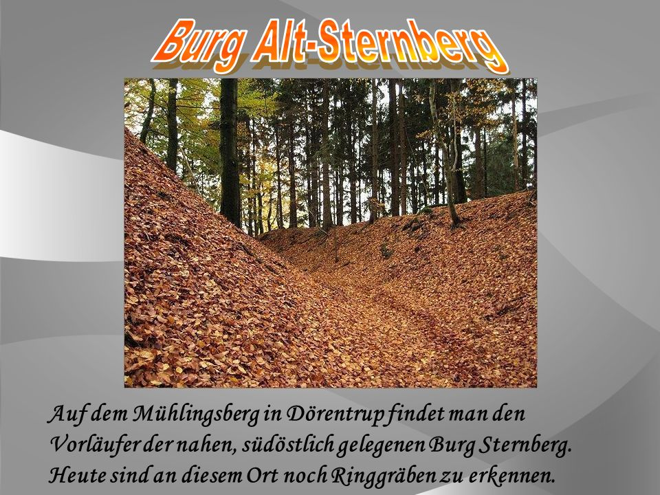 Burg Alt-Sternberg