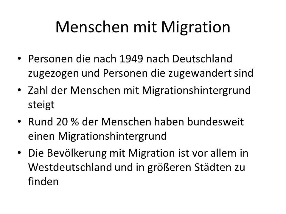 Menschen mit Migration