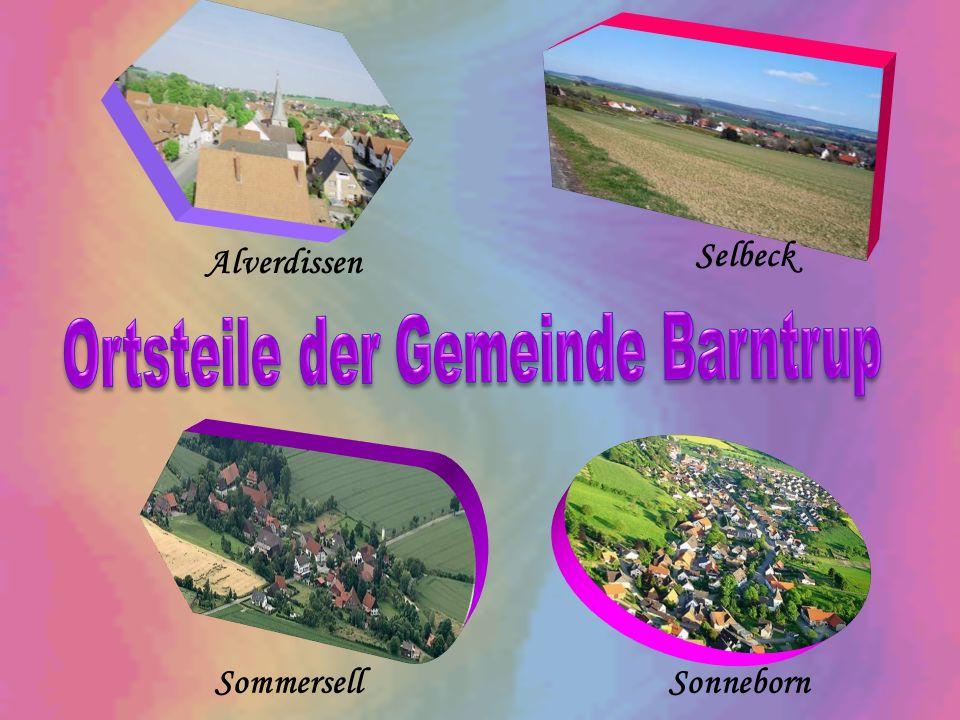 Ortsteile der Gemeinde Barntrup