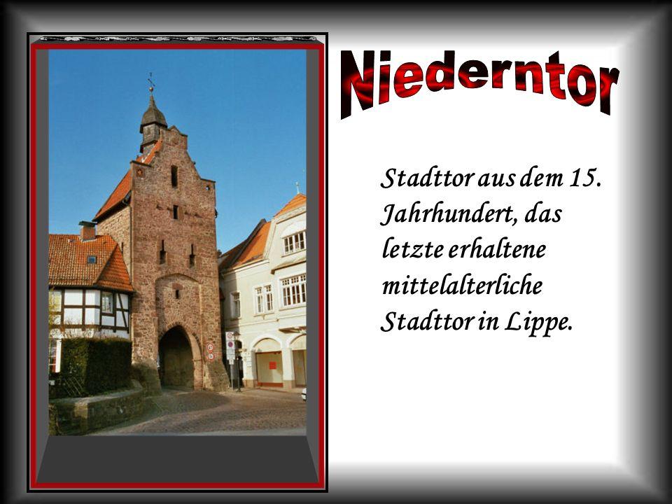 NiederntorStadttor aus dem 15.