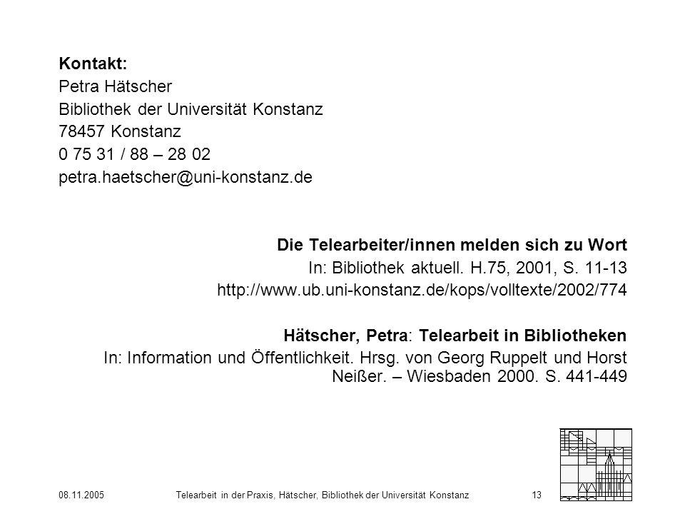Bibliothek der Universität Konstanz 78457 Konstanz
