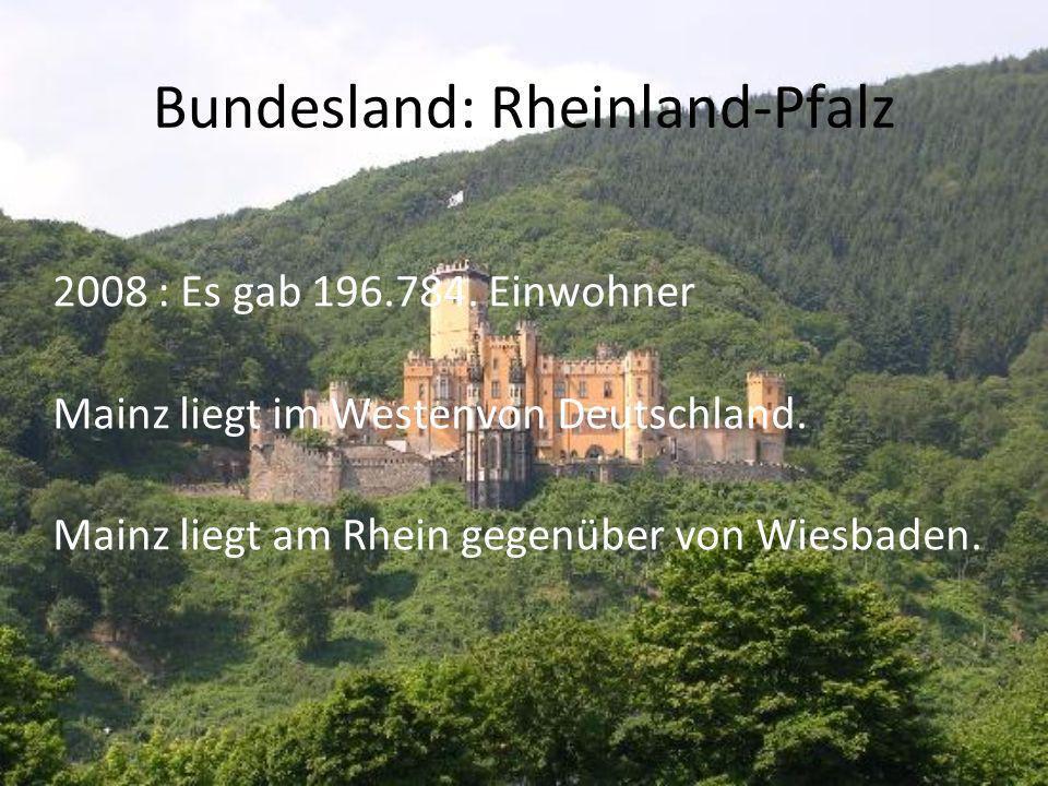 Bundesland: Rheinland-Pfalz