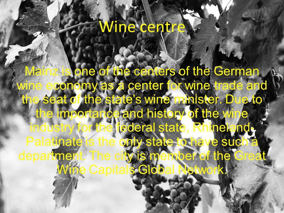Wine centre