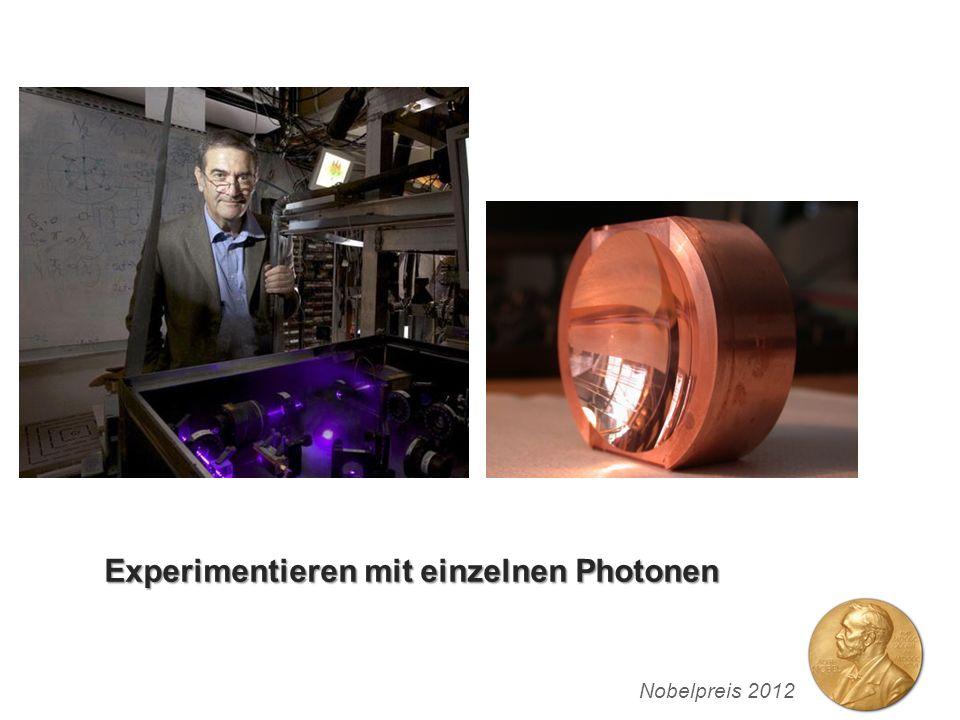 Experimentieren mit einzelnen Photonen