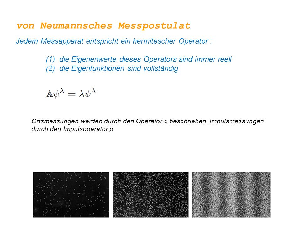 von Neumannsches Messpostulat