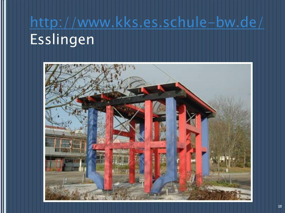 http://www.kks.es.schule-bw.de/ Esslingen