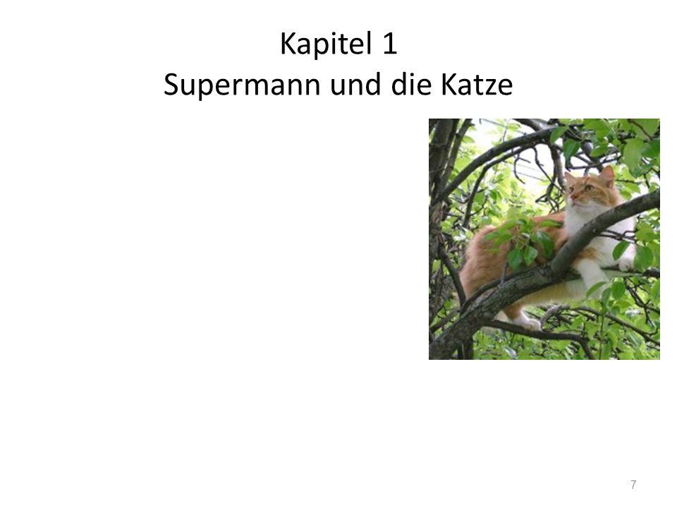 Kapitel 1 Supermann und die Katze