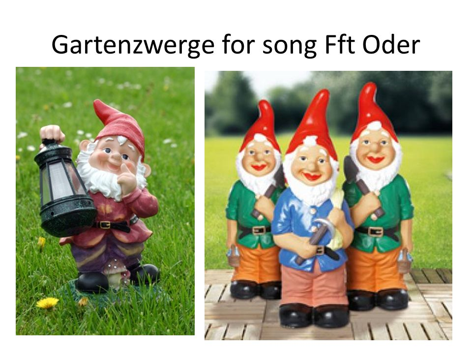 Gartenzwerge for song Fft Oder