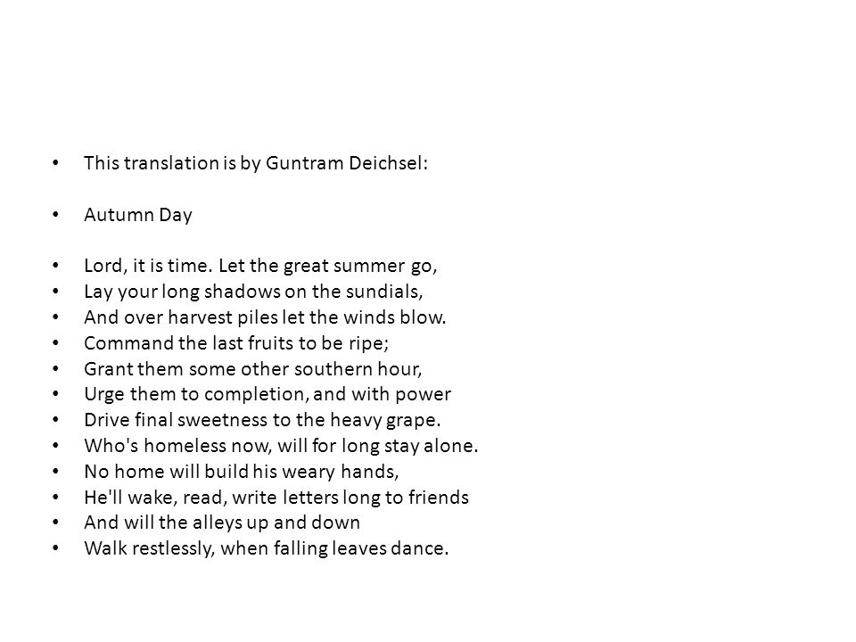 This translation is by Guntram Deichsel: