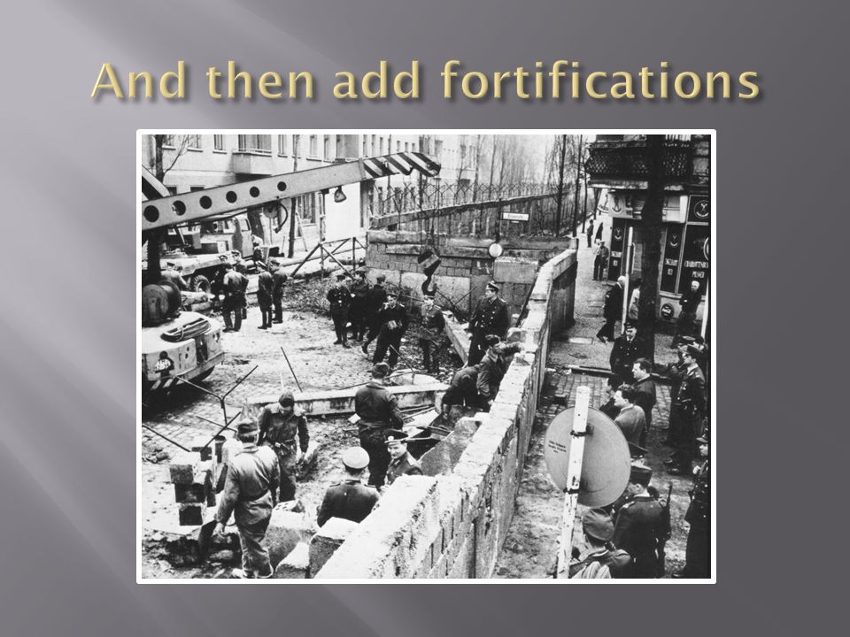 And then add fortifications