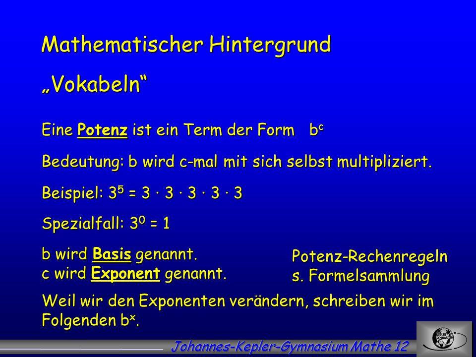 Mathematischer Hintergrund