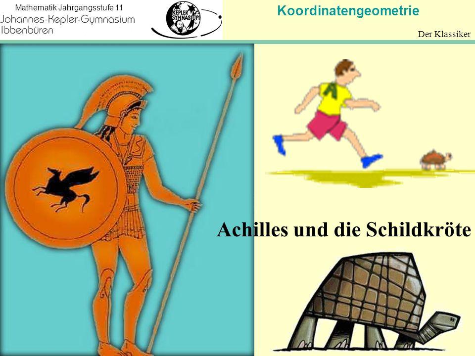 Achilles und die Schildkröte