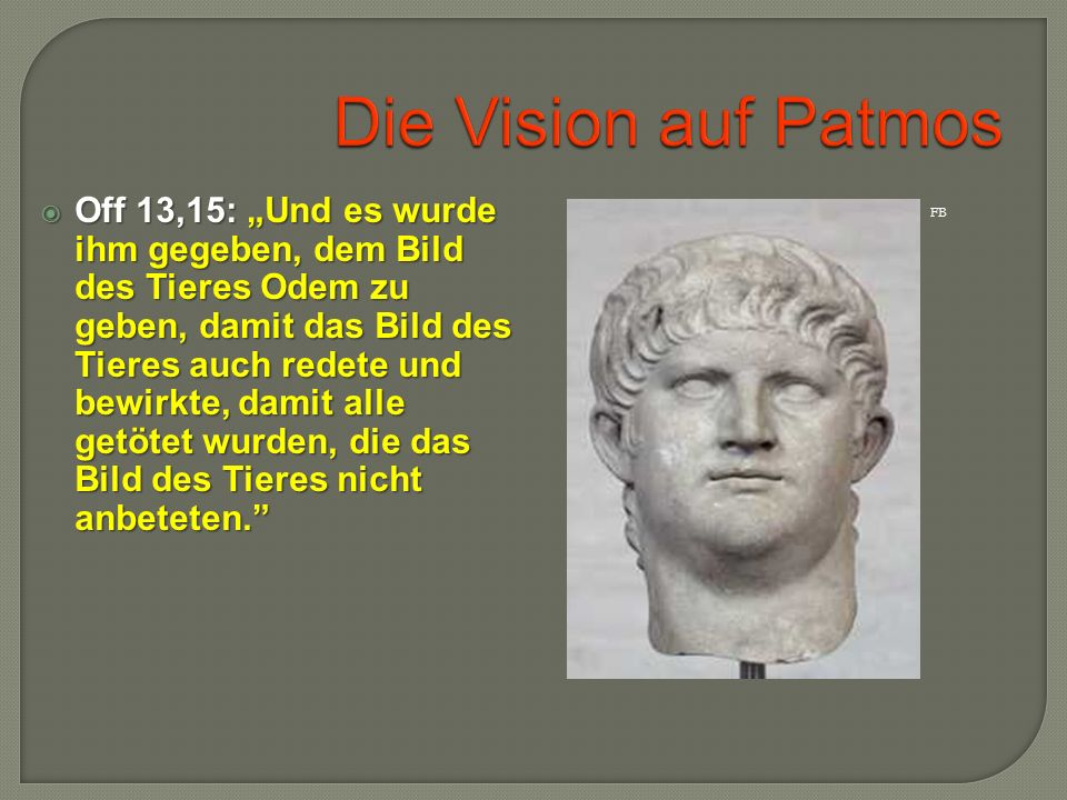 Die Vision auf Patmos
