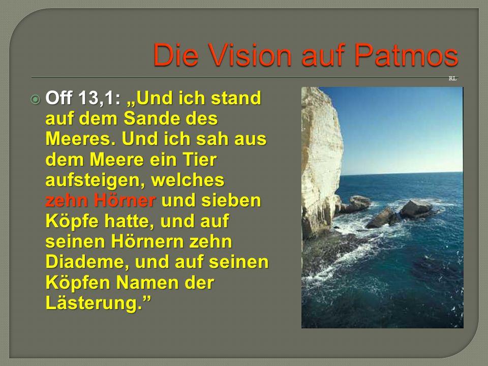 Die Vision auf Patmos RL.