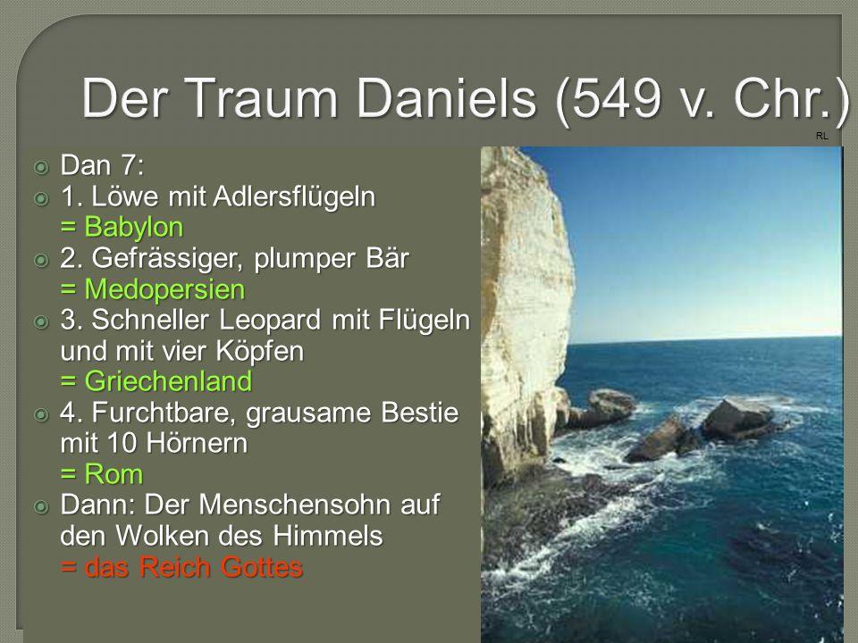 Der Traum Daniels (549 v. Chr.)