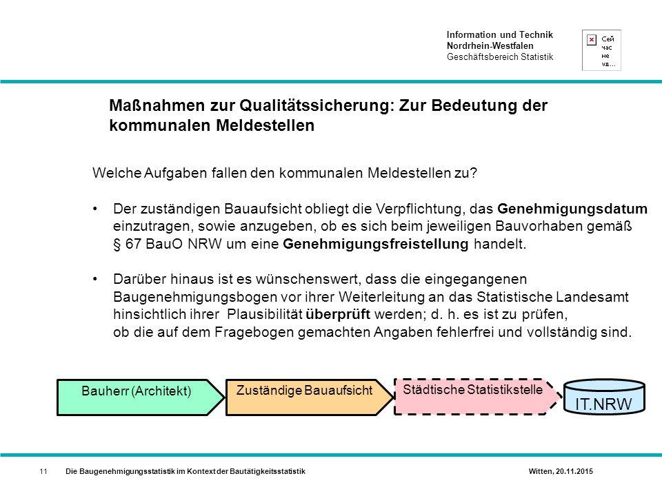 Maßnahmen zur Qualitätssicherung: Zur Bedeutung der kommunalen Meldestellen