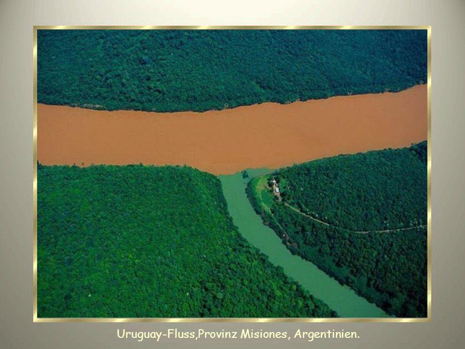 Uruguay-Fluss,Provinz Misiones, Argentinien.
