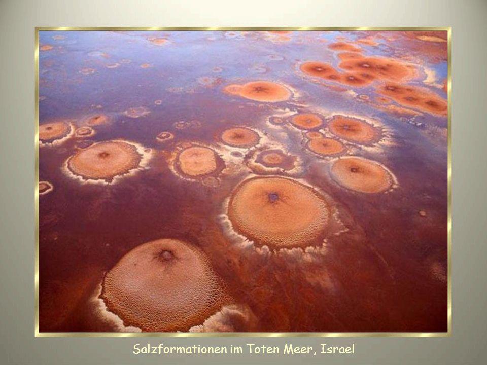 Salzformationen im Toten Meer, Israel