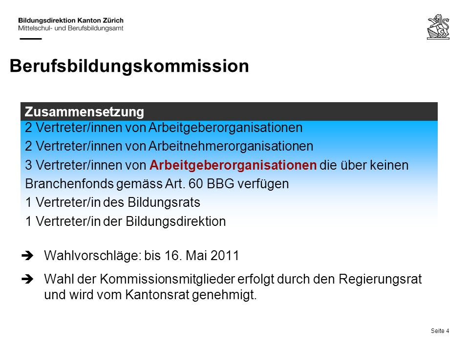 Berufsbildungskommission