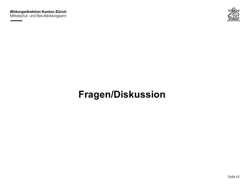 Fragen/Diskussion