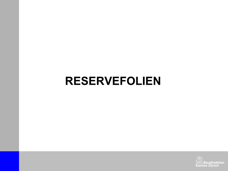 RESERVEFOLIEN