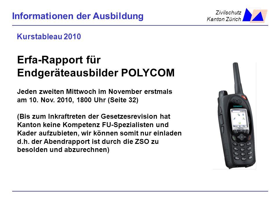 Erfa-Rapport für Endgeräteausbilder POLYCOM