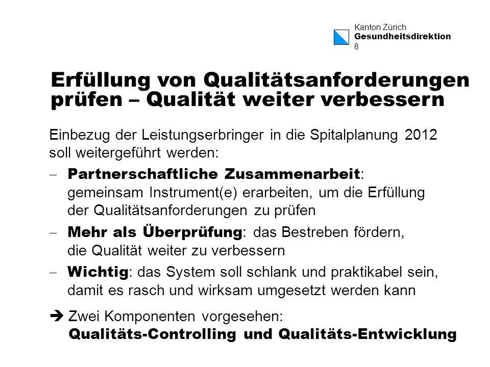 Erfüllung von Qualitätsanforderungen prüfen – Qualität weiter verbessern