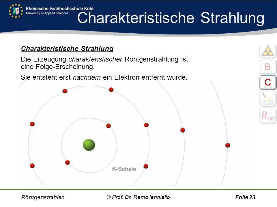 Charakteristische Strahlung